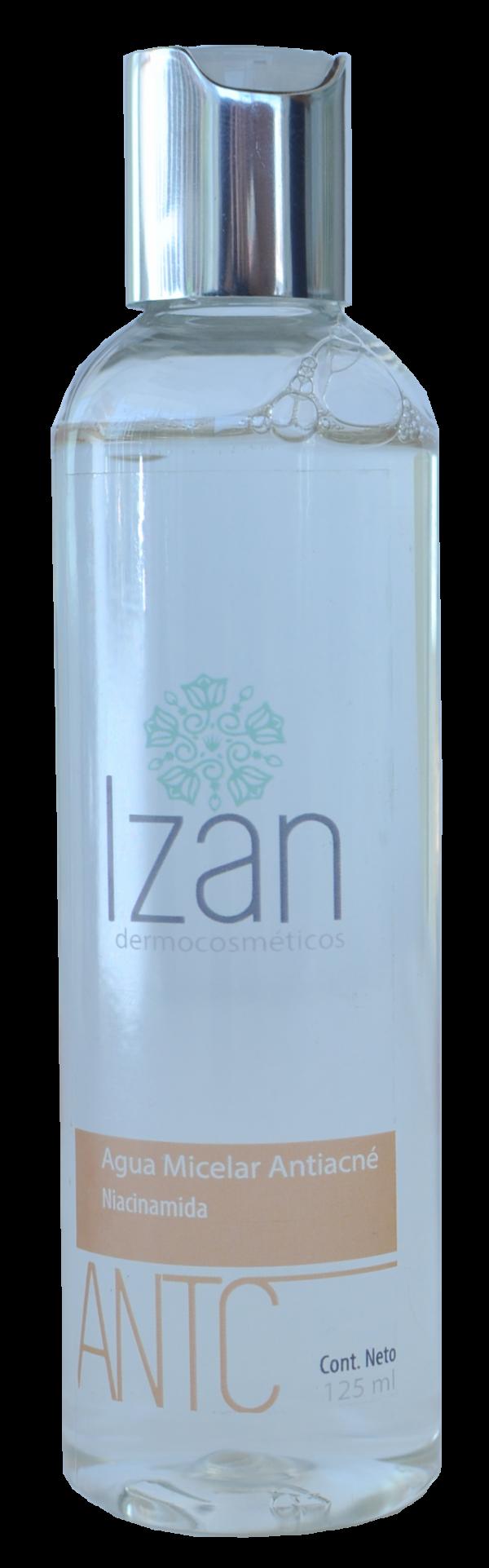 Agua Micelar Antiacné IZAN Dermocosméticos productos
