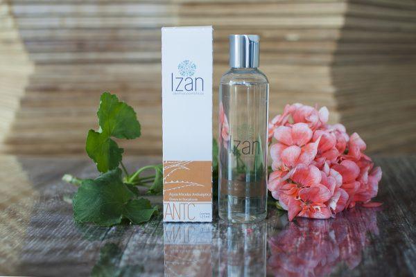 Agua micelar antiseptica IZAN Dermocosméticos