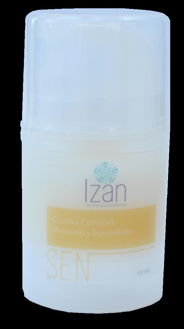 Crema confort IZAN Dermocosméticos productos