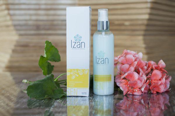 Leche limpiadora confort azuleno IZAN Dermocosméticos