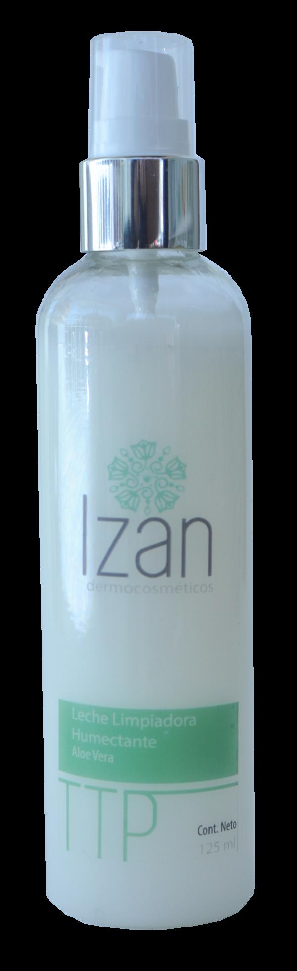Leche limpiadora humectante IZAN Dermocosméticos productos
