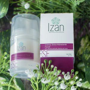 crema extrahidratante facial IZAN Dermocosméticos