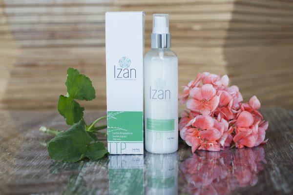 Leche limpiadora humectante aloe vera IZAN Dermocosméticos